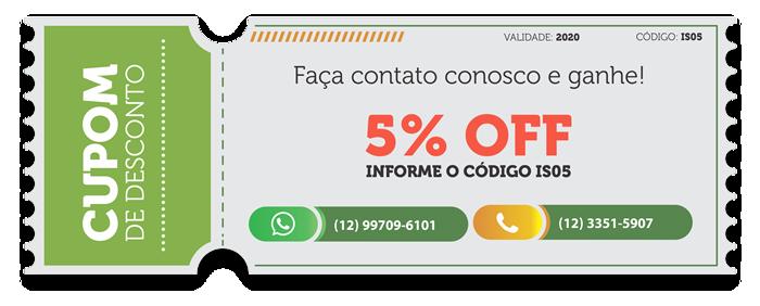 IS Designs Desconto de 5%